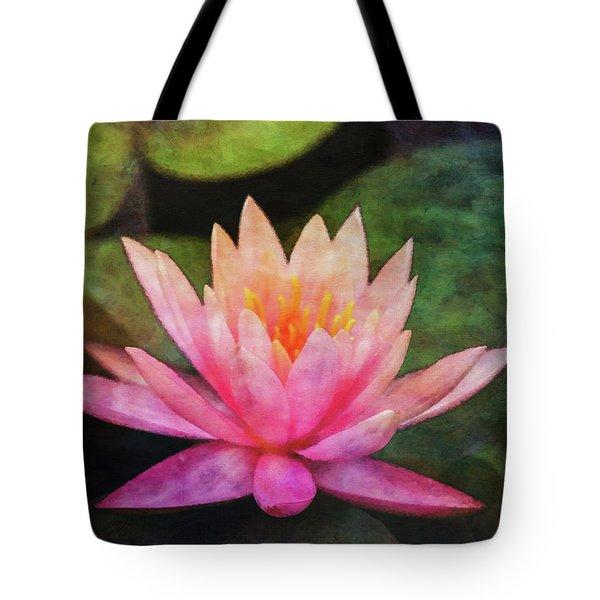 Pink Lotus 4134 Idp_2 Tote Bag