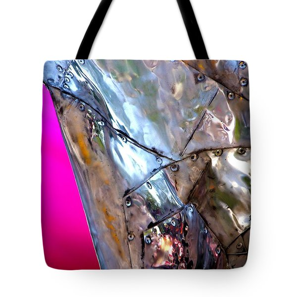 Pink Lustre  Tote Bag by Prakash Ghai