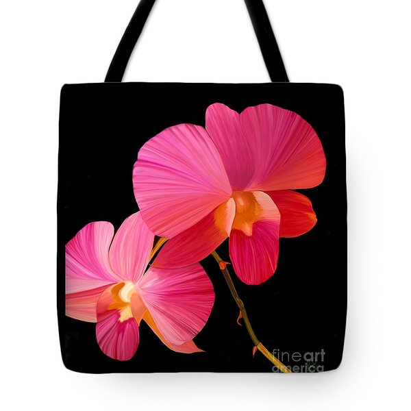 Pink Lux Tote Bag by Rand Herron