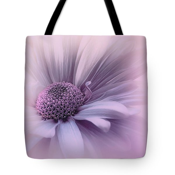 Tote Bag featuring the photograph Pink Mist by Darlene Kwiatkowski