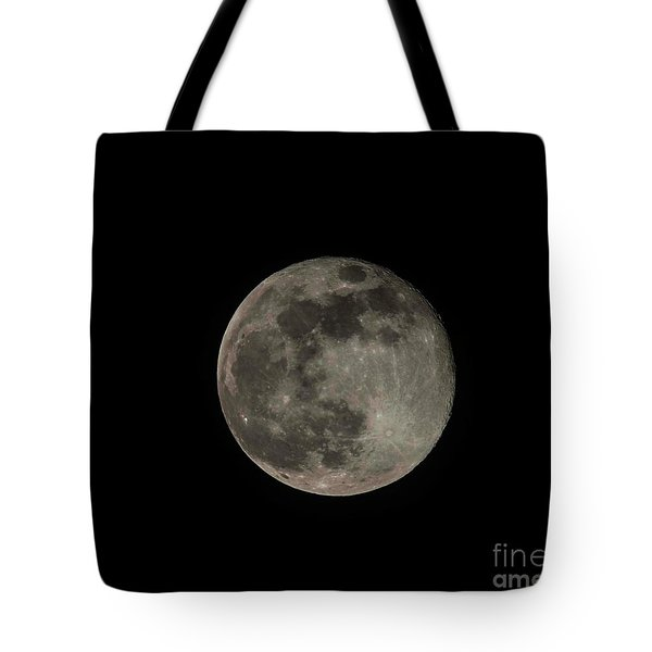 Tote Bag featuring the photograph Pink Moon by David Bearden