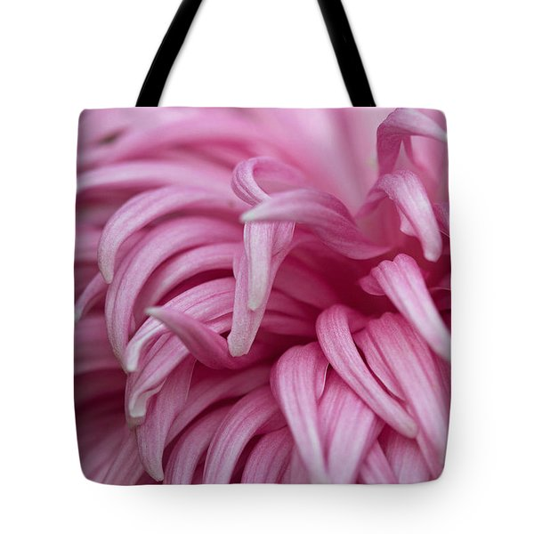 Pink Mum Tote Bag by Jim Gillen