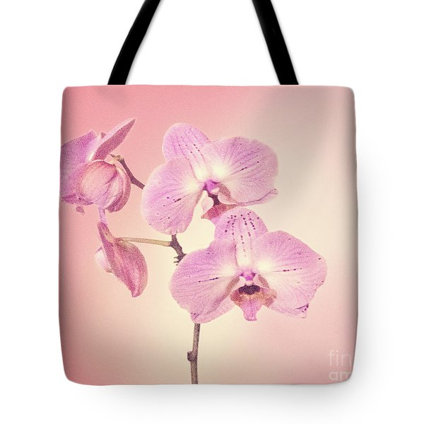 Tote Bag featuring the photograph Pink Orchids 2 by Linda Phelps