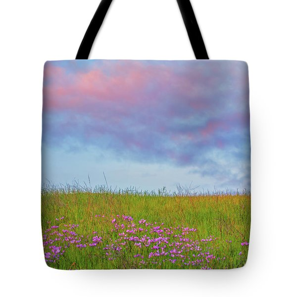 Pink  Over Pink  Tote Bag by Marc Crumpler