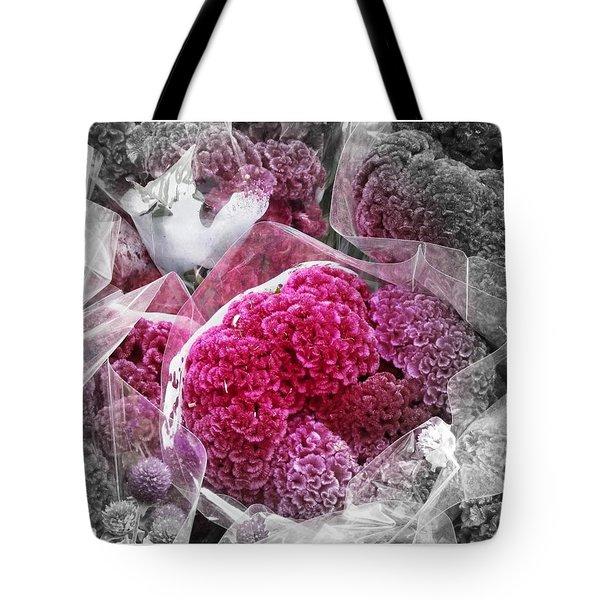 Pink Paradise Tote Bag