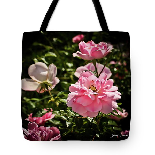Tote Bag featuring the photograph Pink Passion  by Joann Copeland-Paul