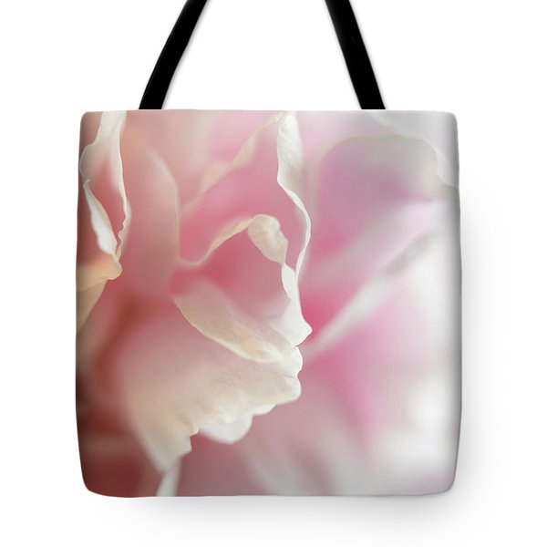 Tote Bag featuring the photograph Pink Peony by Elena Nosyreva