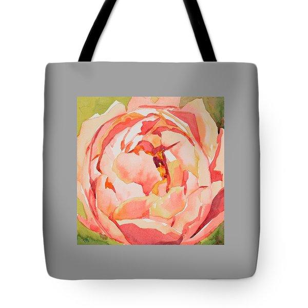 Pink Peony Glow  Tote Bag by Jo  Mackenzie