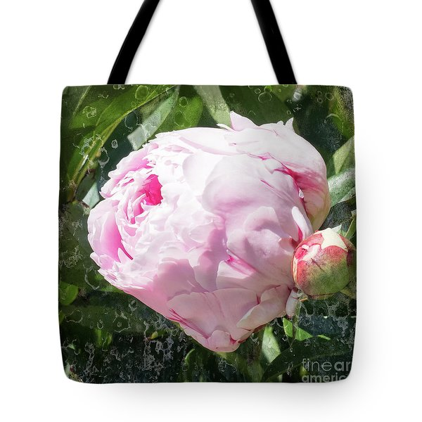 Pink Peony IIl Tote Bag