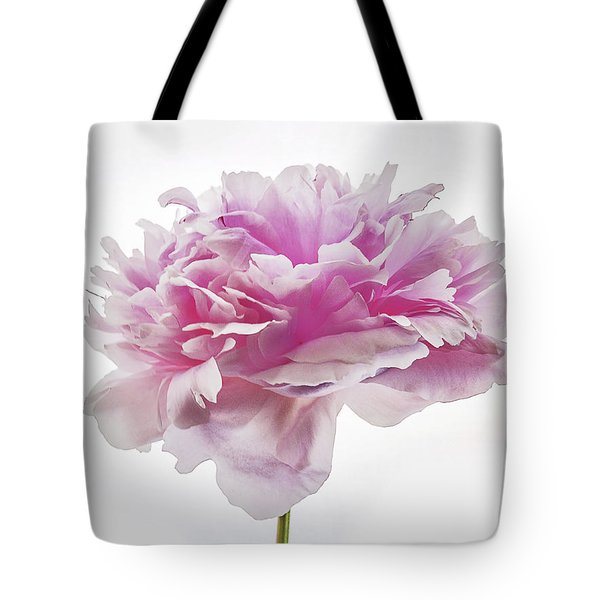 Tote Bag featuring the photograph Pink Peony by Scott Cordell