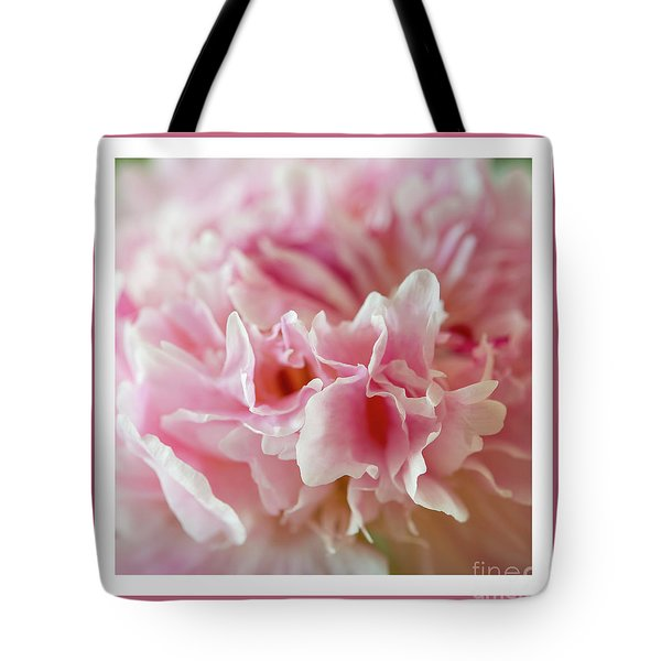 Tote Bag featuring the photograph Pink Perfection by Wendy Wilton