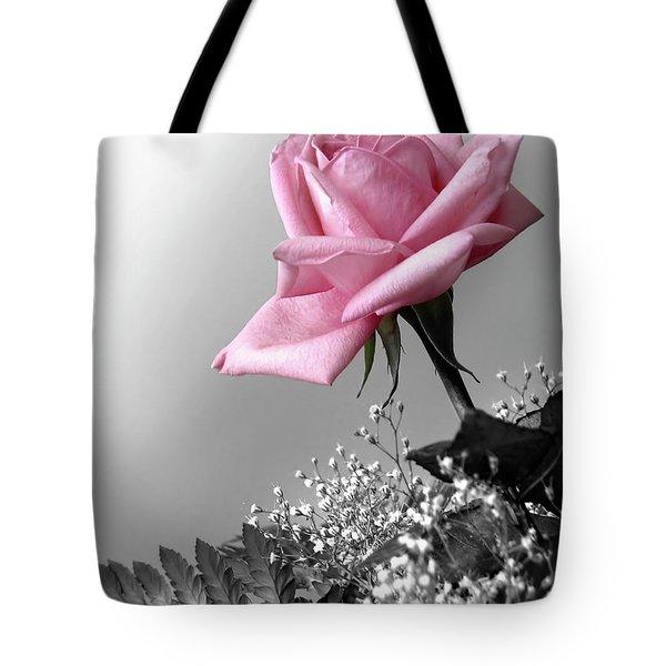 Pink Petals Tote Bag by Carlos Caetano