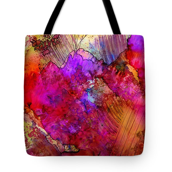 Pink Petals II Tote Bag