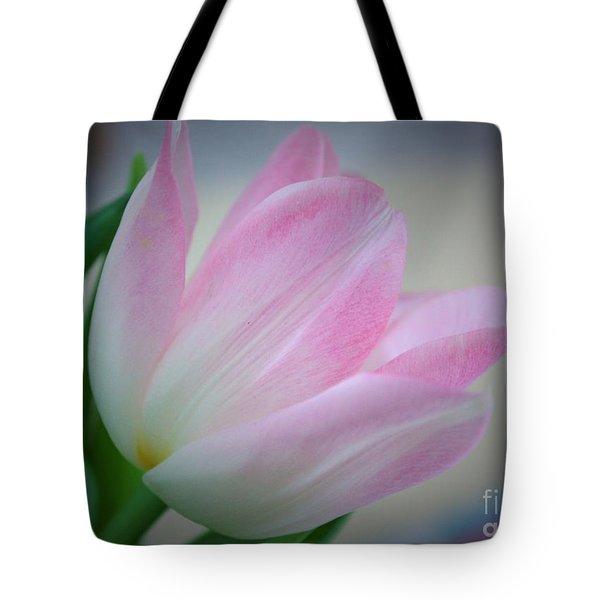 Pink Poetry Tote Bag