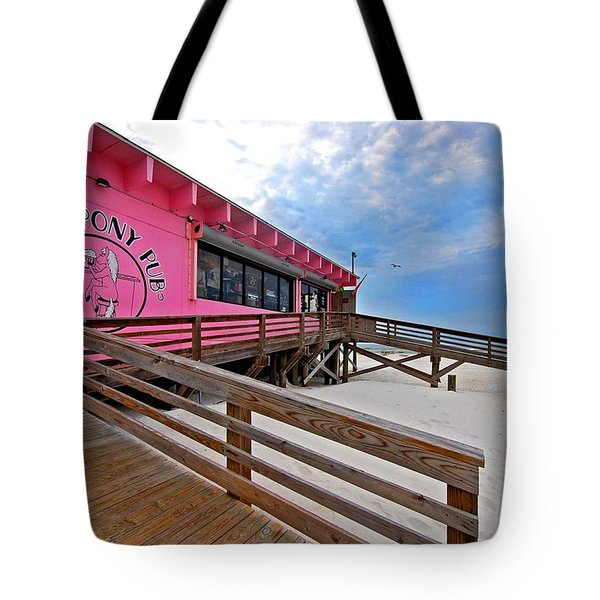 Pink Pony Tote Bag