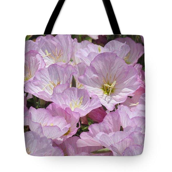Pink Primrose Tote Bag