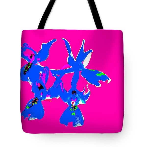 Pink Provence Orchid Tote Bag
