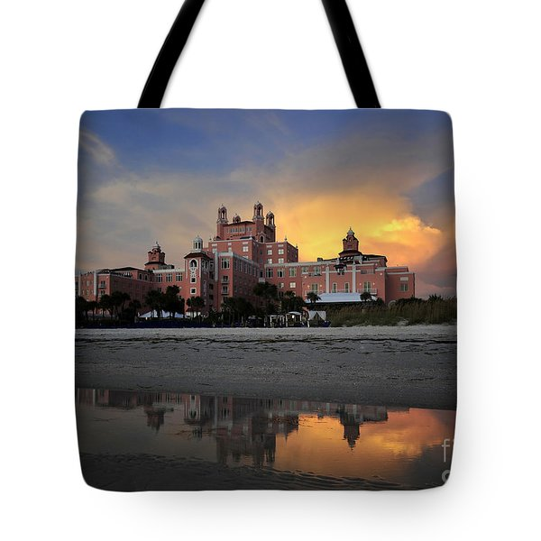 Pink Reflections Tote Bag by David Lee Thompson