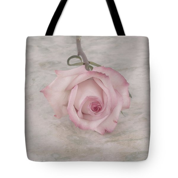 Pink Rose Beauty  Tote Bag by Sandra Foster