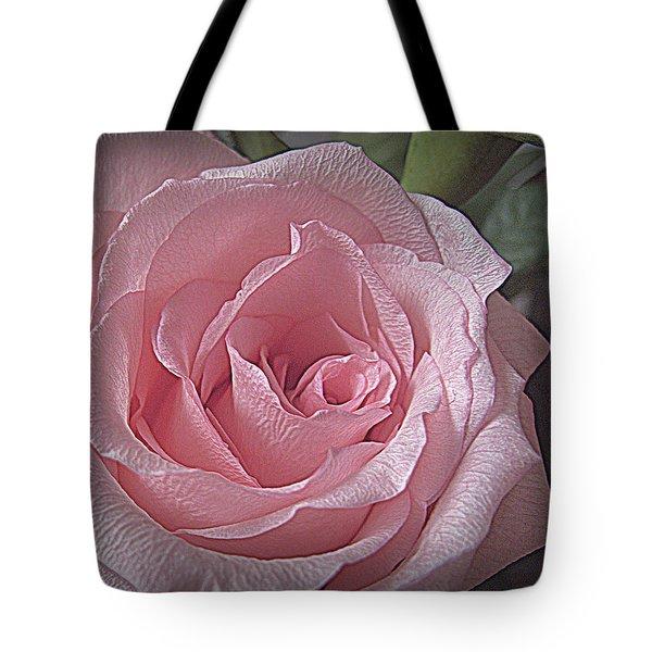 Pink Rose Bliss Tote Bag