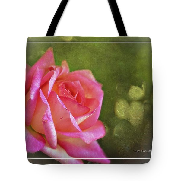 Pink Rose Dream Digital Art 3 Tote Bag