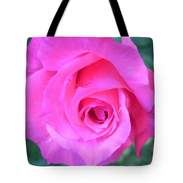 Pink Rose Tote Bag by John Parry