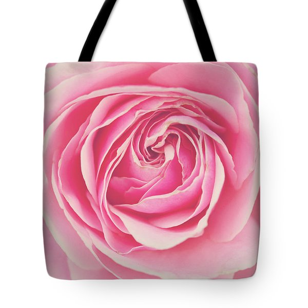 Pink Rose Petals Tote Bag by Melanie Alexandra Price