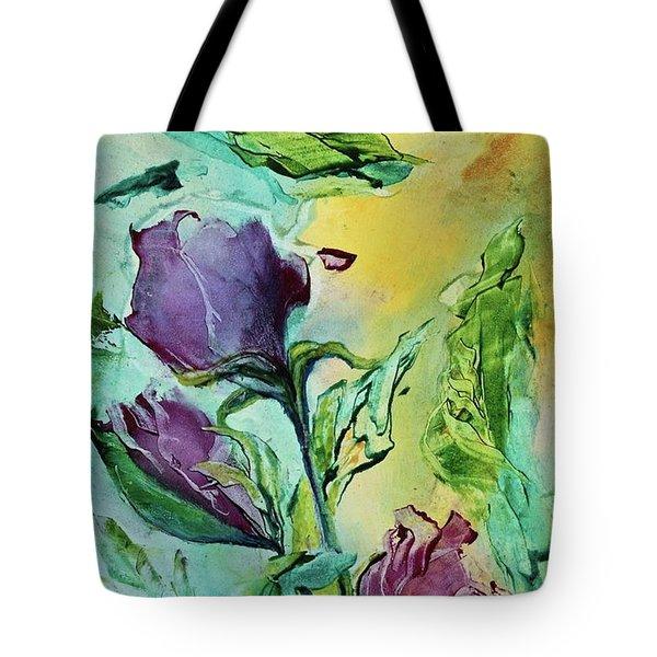 Pink Rosebuds Tote Bag