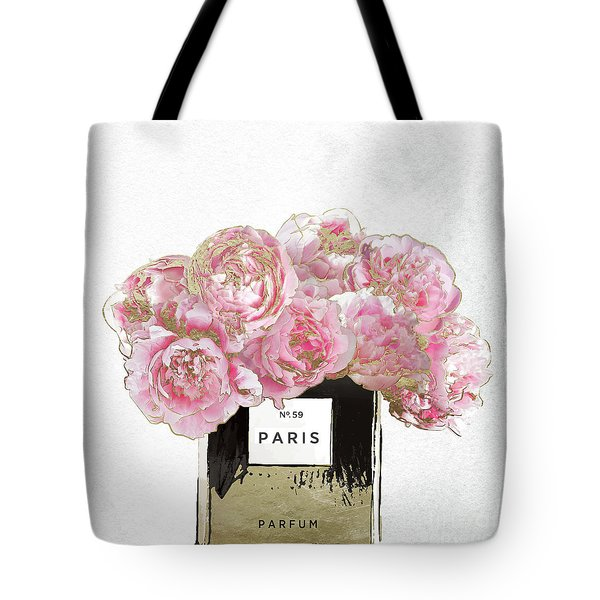 Pink Scented Tote Bag by Mindy Sommers