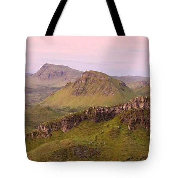 Pink Skye  Tote Bag