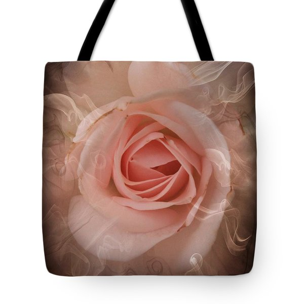 Pink Smokey Tote Bag