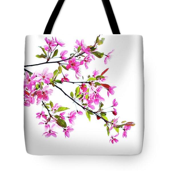 Pink Spring Tote Bag by Marilyn Hunt