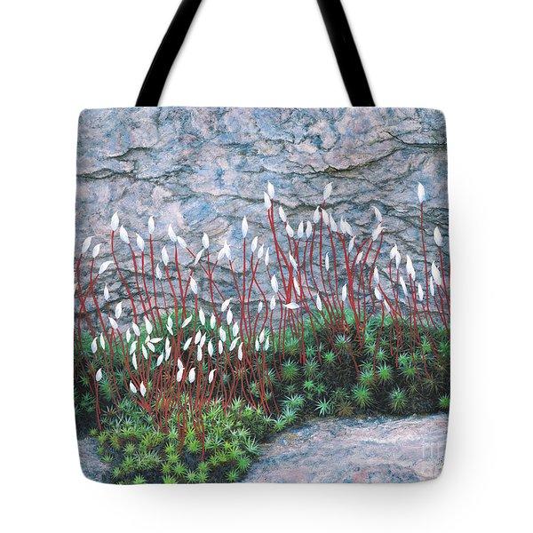 Pink Stony Creek Granite Still Life Study Tote Bag