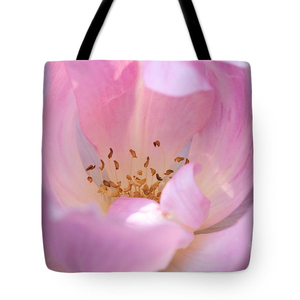 Tote Bag featuring the photograph Pink Swirls by Todd Blanchard
