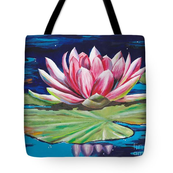 Pink Tranquility Tote Bag