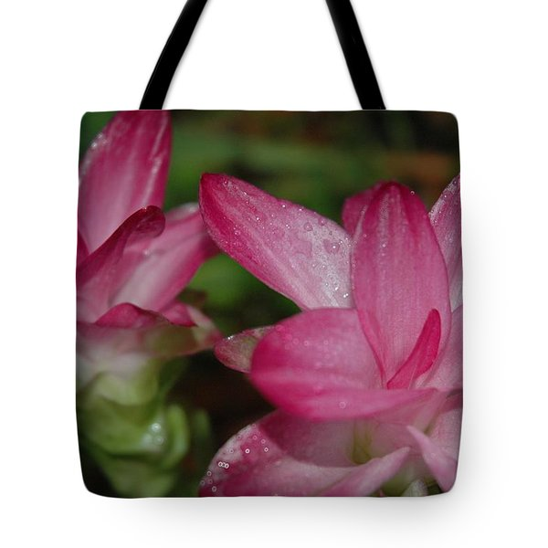 Pink Twins Tote Bag