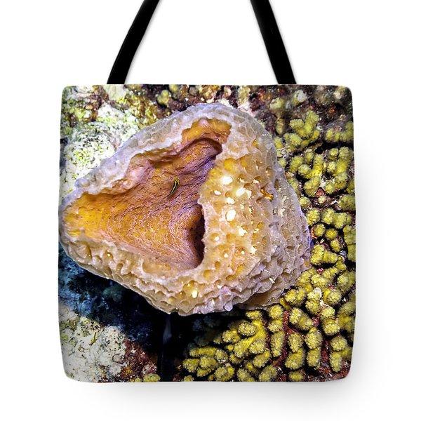 Pink Vase Sponge Tote Bag