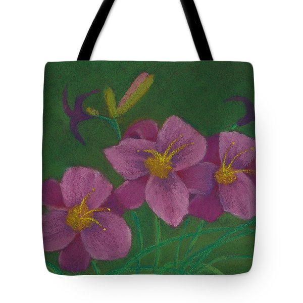 Pink Whispers Tote Bag