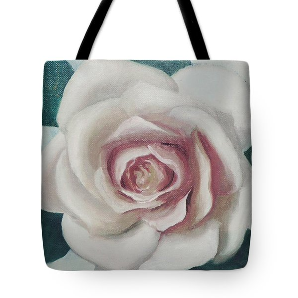 Pinky Flower Tote Bag