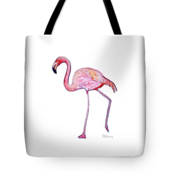 Pinky The Flamingo Tote Bag