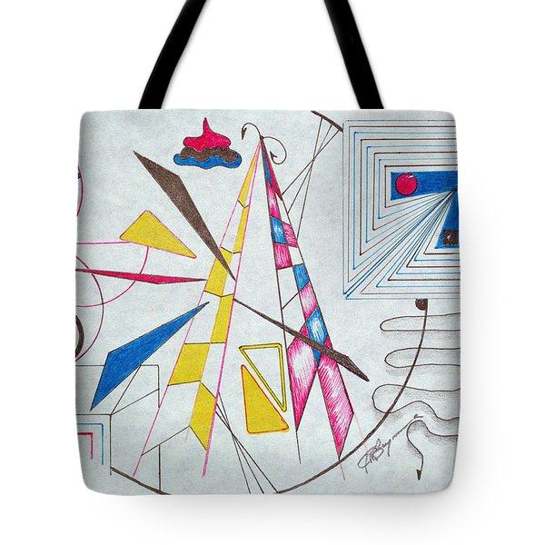 Pinnacle Of Time Tote Bag