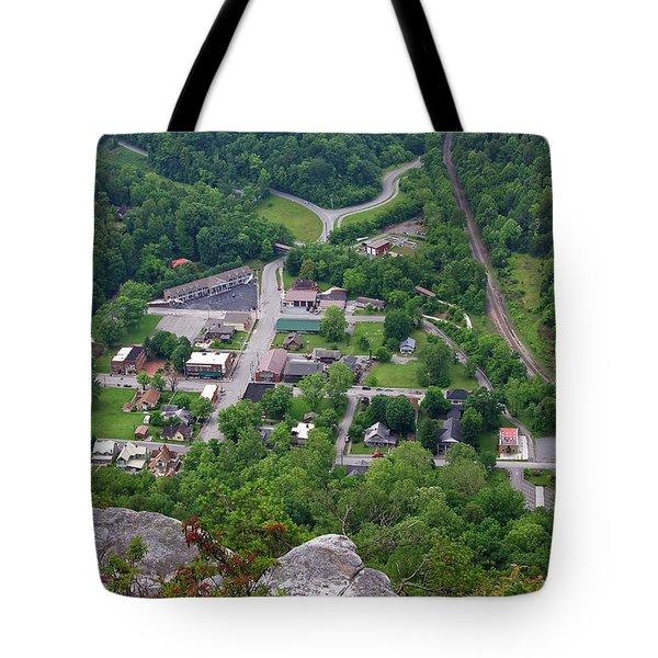 Pinnacle Overlook In Kentucky Tote Bag
