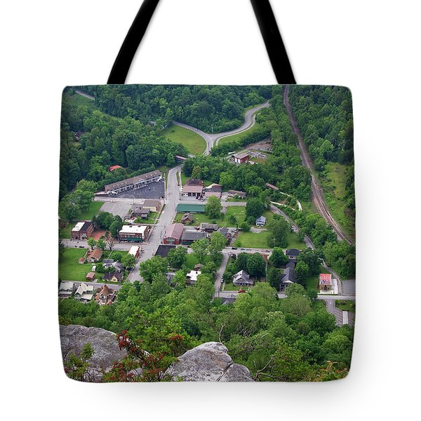 Pinnacle Overlook In Kentucky Tote Bag