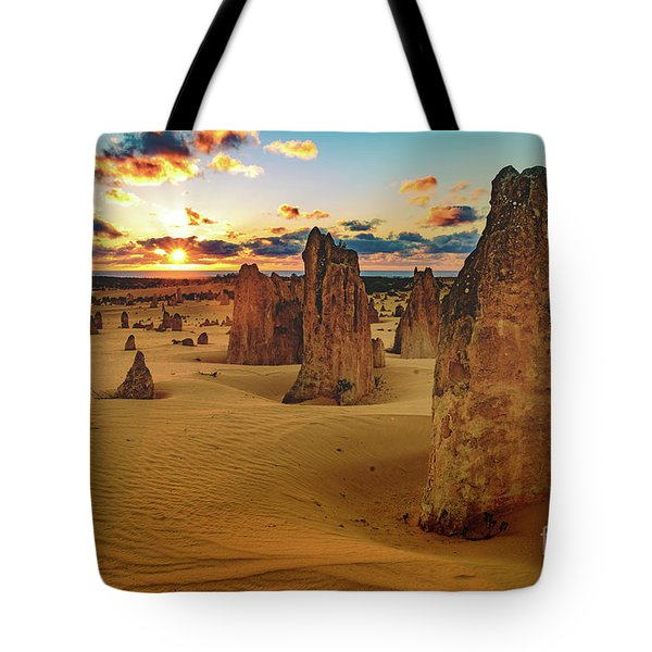 Pinnacles 8 Tote Bag