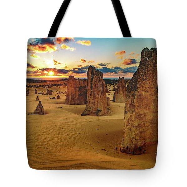 Pinnacles 8 Tote Bag