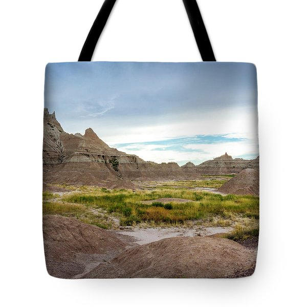 Pinnacles Of The Badlands Tote Bag