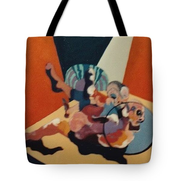 Pinned For The Win Tote Bag by Bernard Goodman