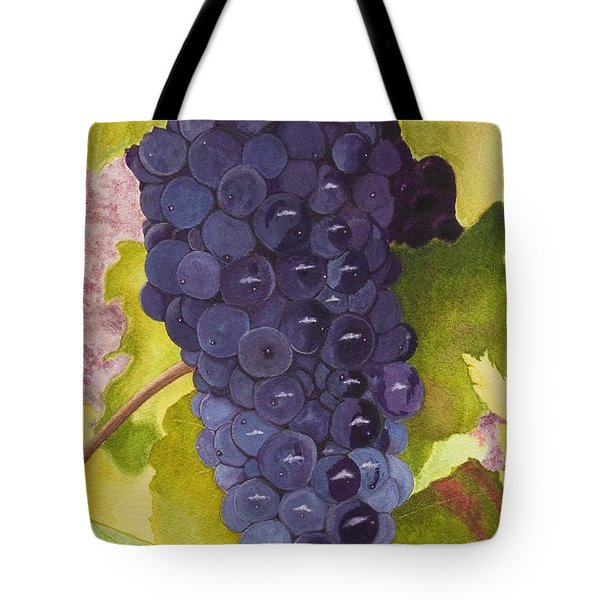 Pinot Noir Ready For Harvest Tote Bag by Mike Robles