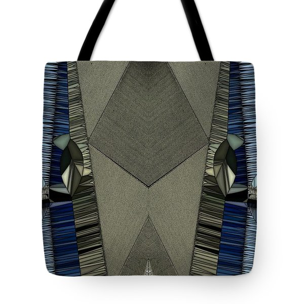 Pins And Needles Tote Bag by Ron Bissett