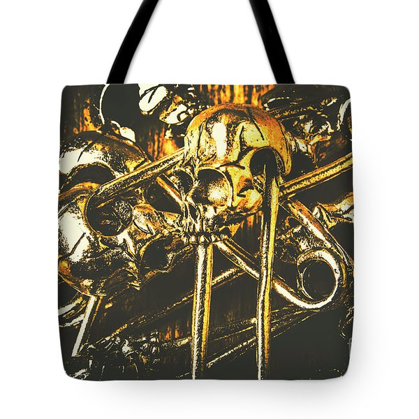 Tote Bag featuring the photograph Pins Of Horror Fashion by Jorgo Photography - Wall Art Gallery